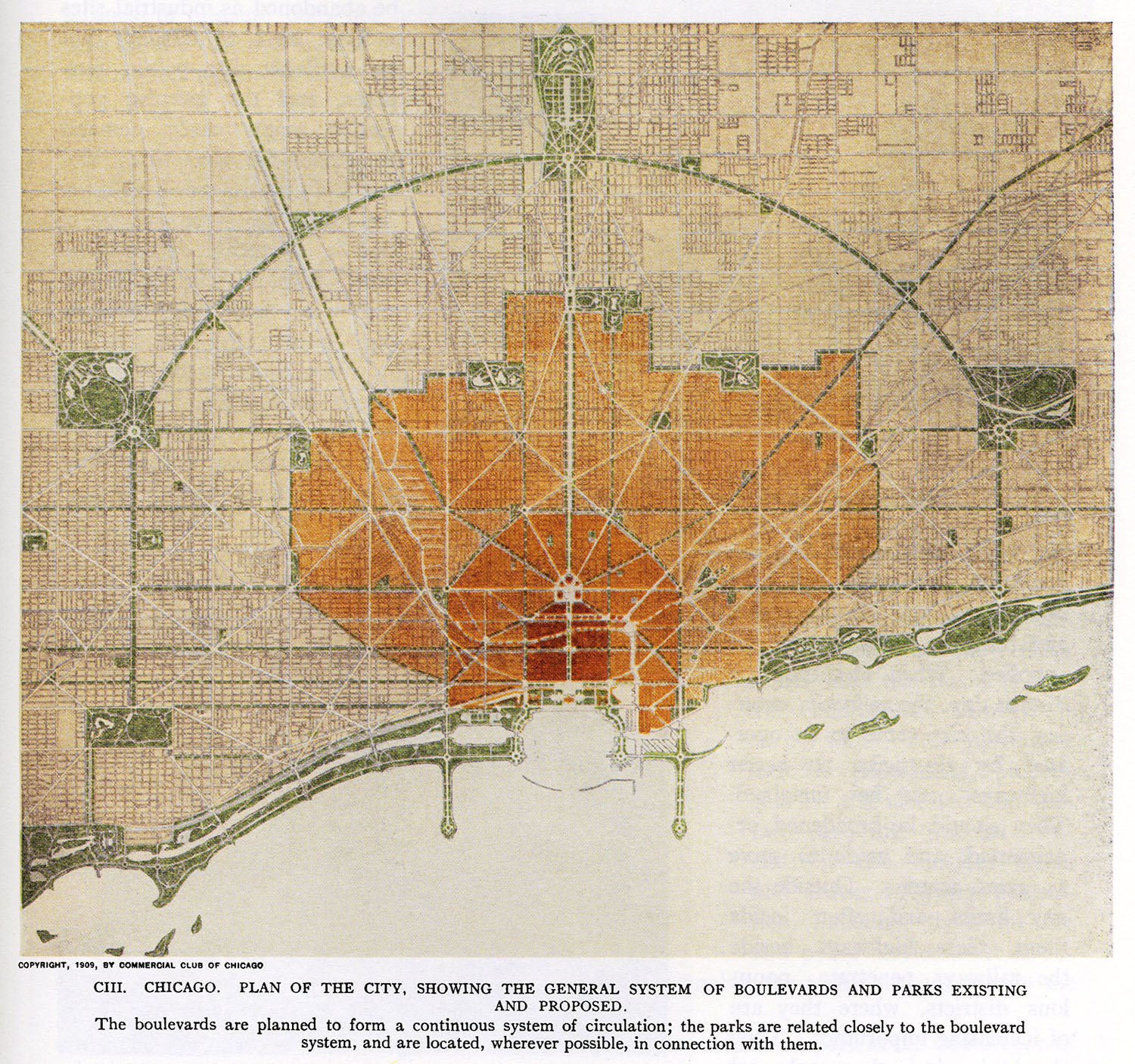 CIII: Existing and Proposed Parks and Boulevards