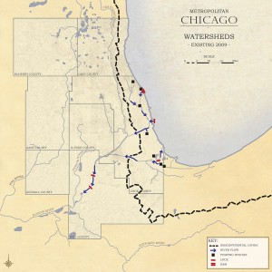 3.1-07-Existing 2009 Metro Chicago reverse-flow watersheds