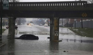 3.1-09-Metro Chicago April 2013 Flood - city underpass