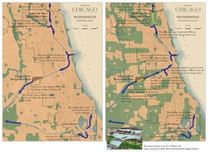 3.1-23-Existing and Proposed City River Flows - Water Treatment - Pervious Surfaces