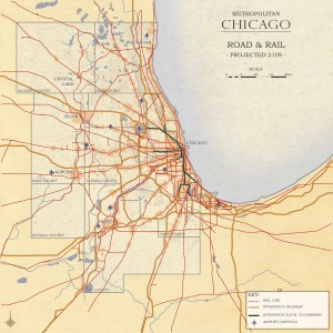 3.2-07-Chicago 2109 Metro Chicago proposed Road and Rail