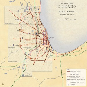 3.2-12-Chicago 2109 Metro Chicago proposed Mass Transit