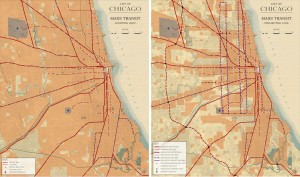 3.2-14-Existing and Proposed City of Chicago Mass Transit