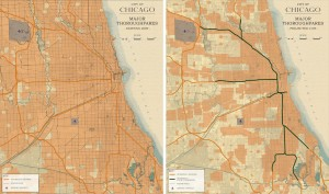 3.2-15-Existing and Proposed City of Chicago Major Thoroughfares