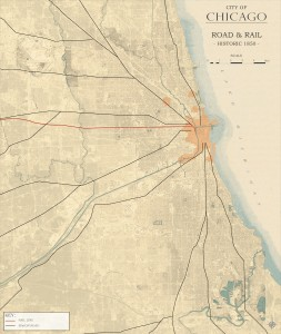 3.2-16-City of Chicago Road and Rail circa 1850