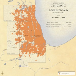 3.3-09-Metro Chicago existing Land Use (2009)