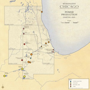 3.4-01-Metro Chicago existing Energy Production (2009)