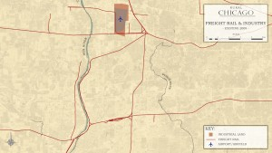 3.4-18-Metro Chicago existing Rural Industrial Land and Freight Rail (2009)