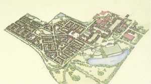 3.7-03.4-Lewis University Campus and Village from SE